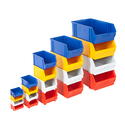 Stackable bins & tote boxes