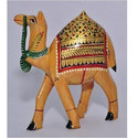Decorative Wooden Camel Statue