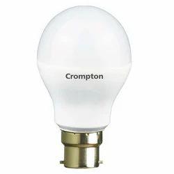 Round Warm White Crompton Greaves LED Bulb, Base Type: B22