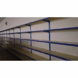 Mild Steel Wall Mounted Storage Rack