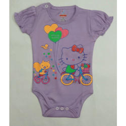 Cartoon Printed Infant Romper