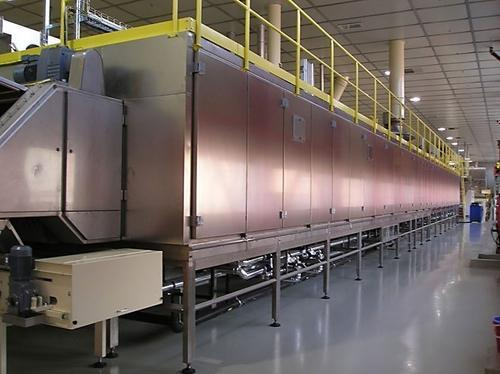 Multi-Pass Tray Dryer