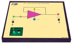 Op - Amp as Voltage Follower Trainer
