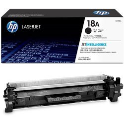 HP 18A Black LaserJet Toner Cartridge (CF218A)