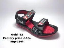 Gold eva sandal