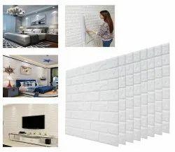 3D Wallpaper Sticker Waterproof Anti Collision Wallpaper