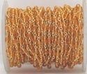 Red Quartz Rondelle Beaded Rosary Chain