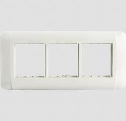 White 6M Cover Frame