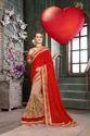 Traditional modern fancy saree