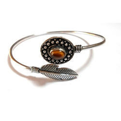 Brass Casual Wear, Festive Wear Handmade Silver Plated Exclusive Designs Bangle