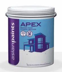 Asian Paints High Sheen Apex Exterior Emulsion, Packaging Type: Bucket