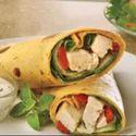 Paneer Shawarma Tortilla Wrap