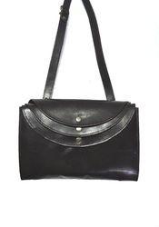 HV Black Genuine Leather Designer Ladies Purse