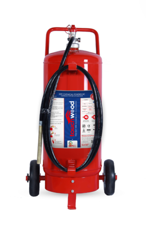 0b8140a0c7bb Touchwood 25 Kg. Dry Chemical Powder Trolley Type Fire Extinguisher ...