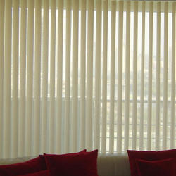 Milky White PVC Office Curtain Blind