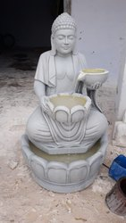 Marble Budha Water Fountain
