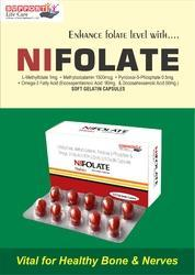 L-Methylfolate 1mg  Methylcobalamin 1500mcg Pyridoxal-5-Phosphate 0.5mg Omega-3 fatty acid containin