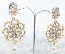 gold plated Dangler Fancy Earring