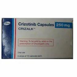 Crizotinib 250mg Capsules