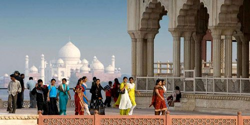 Image result for Taj Mahal Tour by train