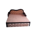 Rectangular Wooden Sofa Cum Bed, Size/dimension: 6x2.5 Feet, For Home, Office