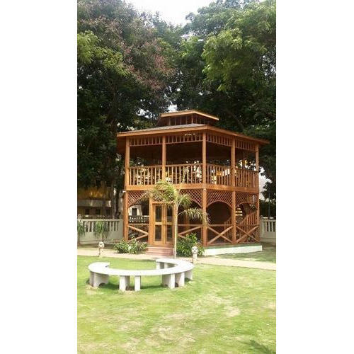 Outdoor Wooden Gazebo