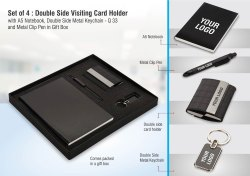 Double Sided Visiting Card Holder