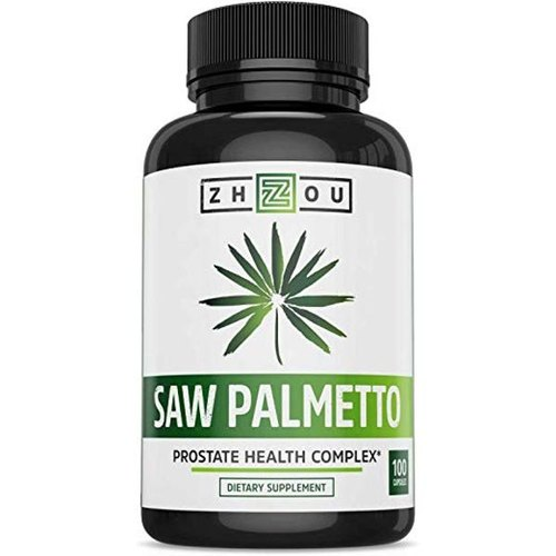 Zhou Nutrition Saw Palmetto Support Prostate Health Capsules
