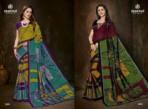 867e1cbf4d Deeptex By Mother India Vol 28 Pure Cotton Saree at Rs 575 /piece ...