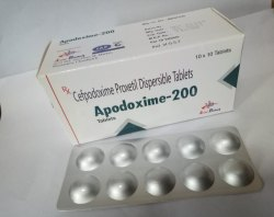 Cefpodoxime Proxetil 200 Mg For Hospitals,Nursing Homes & Doctors