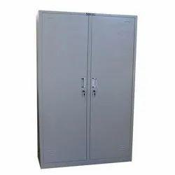 Double Door Metal Wardrobe.