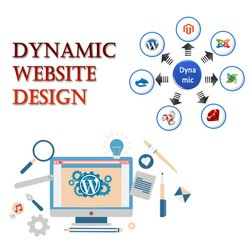 Dynamic Website Design Services, With 24*7 Support