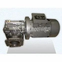 Trisons Drives 1 Hp Electric Geared Motor, 1400 Rpm, Voltage: 415 V