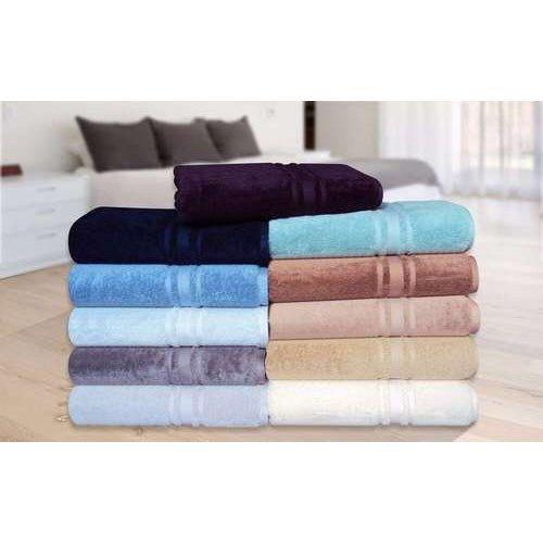 Solid Color Bath Towels At Rs 225 Piece Mazgaon Mumbai Id