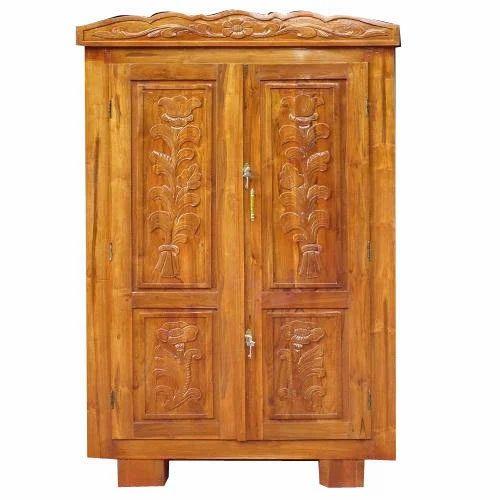 Wooden Almirah Burma Teak Wood Almirah Manufacturer From