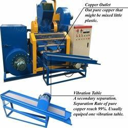 Scrap Wire Stripping & granulating Machine