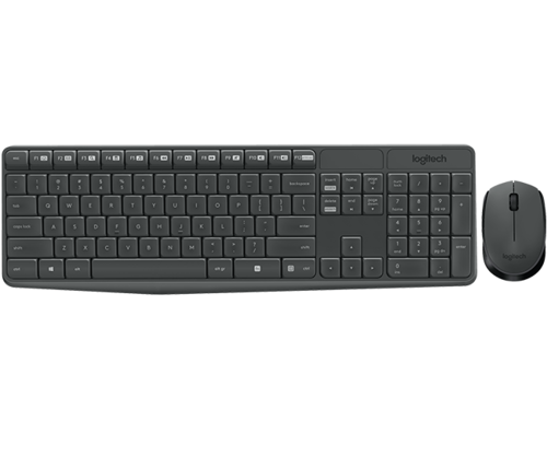 0d7ef779996 Mk235 Wireless Keyboard, Cordless Keyboard, बिना तार का ...