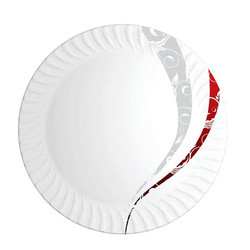 Double Deep Magnetic Shape Melamine Plate
