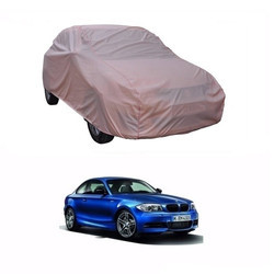Motrox Light Brown Water Resistant Rexine Car Cover