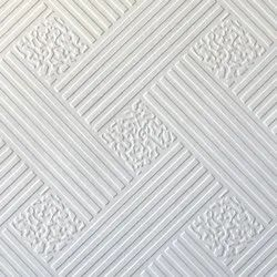 PVC Vinyl Laminated Gypsum False Ceiling Tile