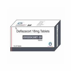 DEFLAZACORT 18 MG TABLETS