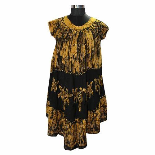 Free Batik Printed Batik Umbrella Dress, Rs 210 /piece, YC