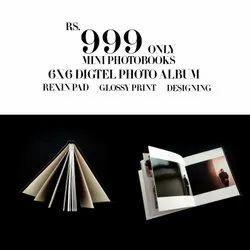 Acrylic Digtel photoalbum printing desining, Size: 6X6, Hp Print