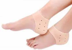 Silicone Gel Heel Anti Crack Protector Pad Cups Socks