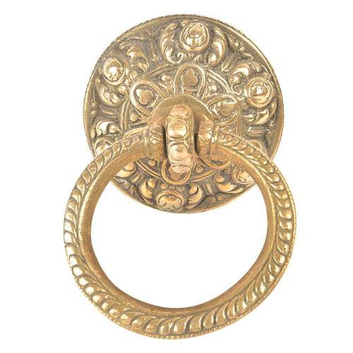 Decorative Golden Brass Door Knocker