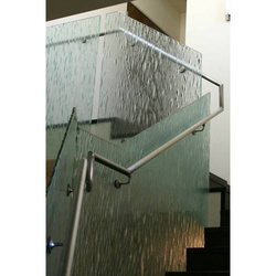15 mm Button Glass Railing