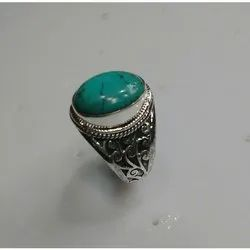 LE Green Turquoise Ring