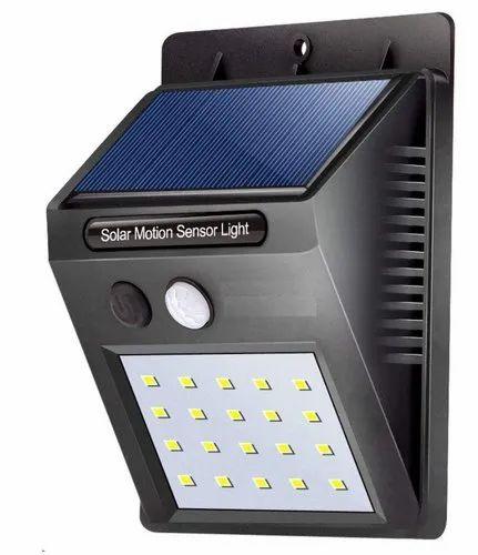 3w 20 Led Solar Panel Powered Motion, Motion Sensor Lamp Outdoor