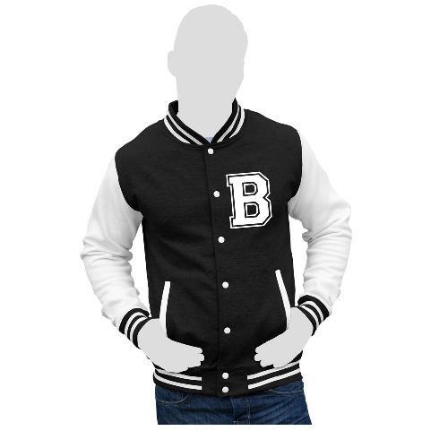 Mens Full Sleeve Unisex Varsity Jackets