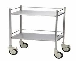 Mild Steel Instrument Trolley